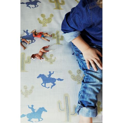 boys bedroom fabric cactus cowboy boys fabric in metre length bedroom