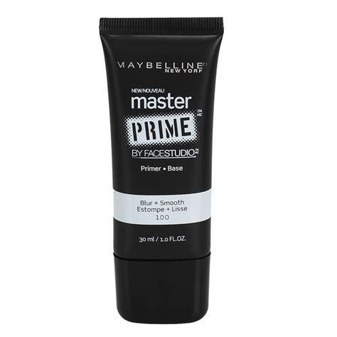 Maybelline Smooth Primer maybelline studio master prime primer blur and