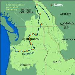 columbia river canada map columbia river walleye guides walleye fishing trips