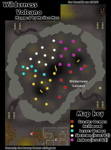 wilderness volcano runescape guide runehq