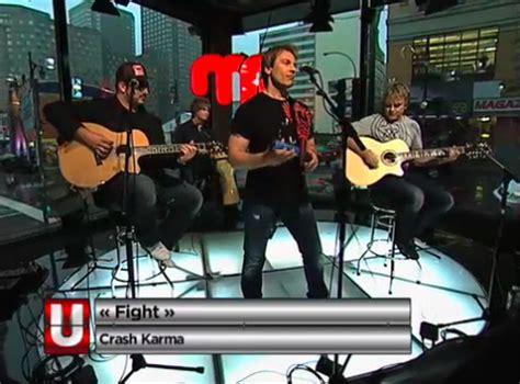 canadian rock band crash karma performs in juzd