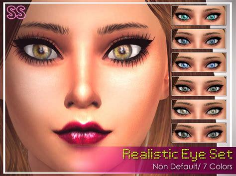 Sims 4 Realistic Eyes | senpaisimmer s realistic eyes