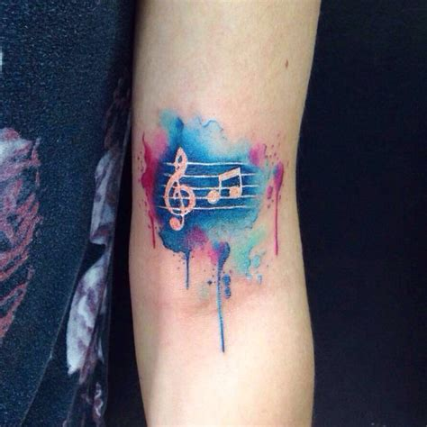watercolor heart tattoo designs watercolor tattoos