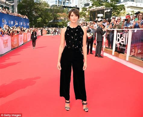 Welcome Gemma And To Their New Roles As Co Editors Of The Bag by Gemma Arterton Debuts New 60s Style Blunt Do At Tiff