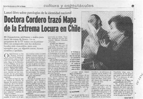doctora cordero traz 243 mapa de la extrema locura en chile