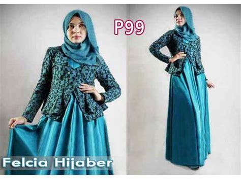Penang 3in1 Set Batik Tosca gamis modern blazer felcia p99 ep brokat formal feminim