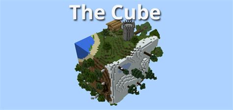 minecraft best survival maps the cube creation survival minecraft pe maps