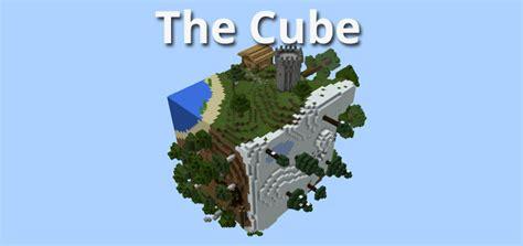 best survival map minecraft the cube creation survival minecraft pe maps