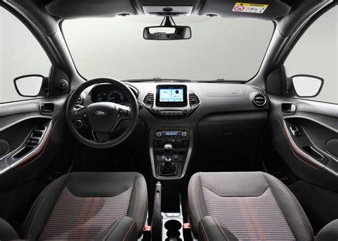 ford ka interior 2018 ford ka revealed active crossover added