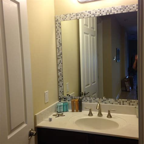 take self adhesive tiles bought from homedepot and add