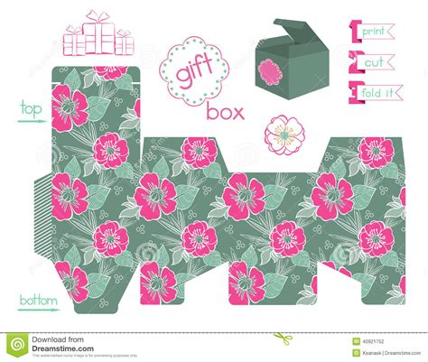 printable box template with lid 7 best images of apple gift box templates printable free