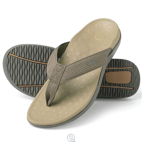 the plantar fasciitis orthotic sandals flip flops khaki s 10 s 11 ebay