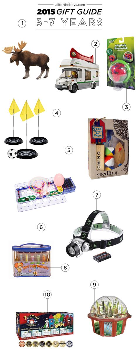 7 year old gift guide 2015 gift guide 5 7 year olds all for the boys