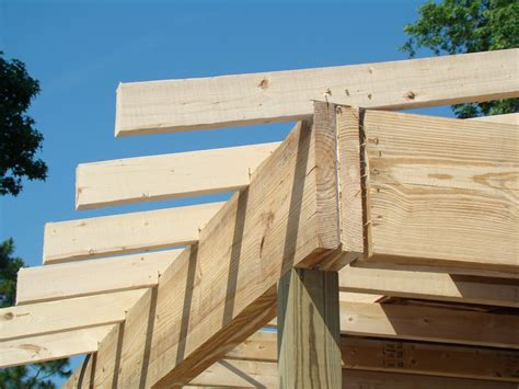 construction reports framing  porch roof