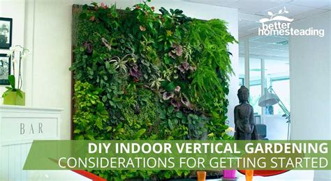 how to plant a diy indoor vertical garden system