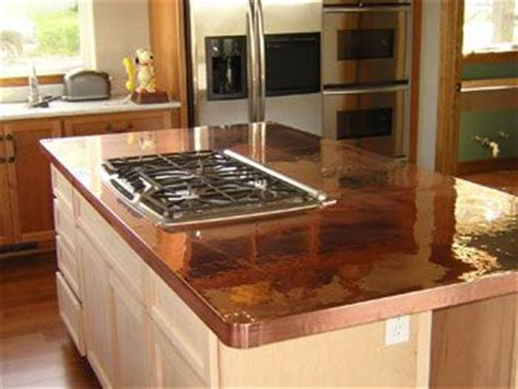 kitchen countertops suvidha innovation 17 best images about copper and metal ideas inside the