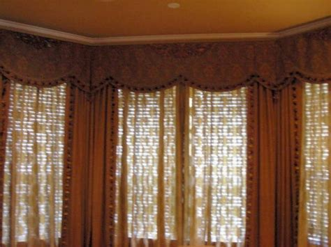 box bay window treatments bay window box pleated valance chfindustry gallery