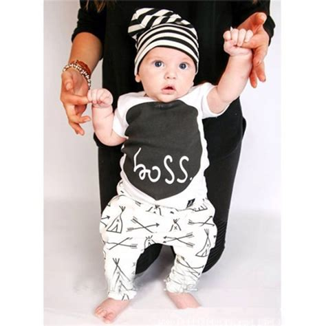 baby boy clothes 2pcs newborn baby boys infant t shirt tops