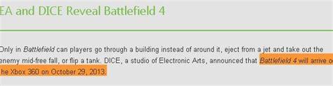 battlefield 4 microsoft svela la data ufficiale battlefield 4 microsoft svela la data ufficiale