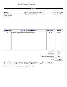 How To Create A Template In Docs by Doc 572739 How To Create An Invoice Template In Word