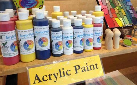 can i use craft acrylic paint on canvas buy acrylic safe artist paints for earth friendly