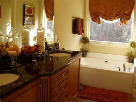 beautiful bathroom decorating ideas apartment beautiful bathroom decor ideas with brown curtain