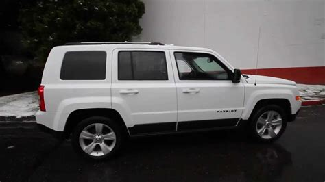 white jeep patriot with white rims 2014 jeep patriot sport white ed704076 seattle