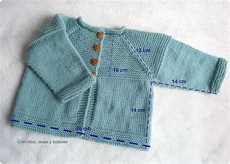 la chaquetita de punto chaqueta beb chaqueta shalma paso a paso con hilos lanas y botones