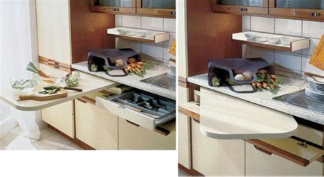 Small Kitchen Space Saving Ideas 21 Space Saving Kitchen Island Alternatives For Small Kitchens