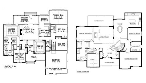 large floor plan large house plans blueprint quickview front luxury home s