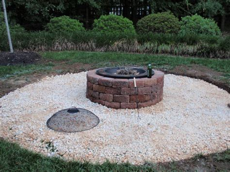 backyard brick fire pit 10 diy outdoor fire pit bowl ideas you have to try at all