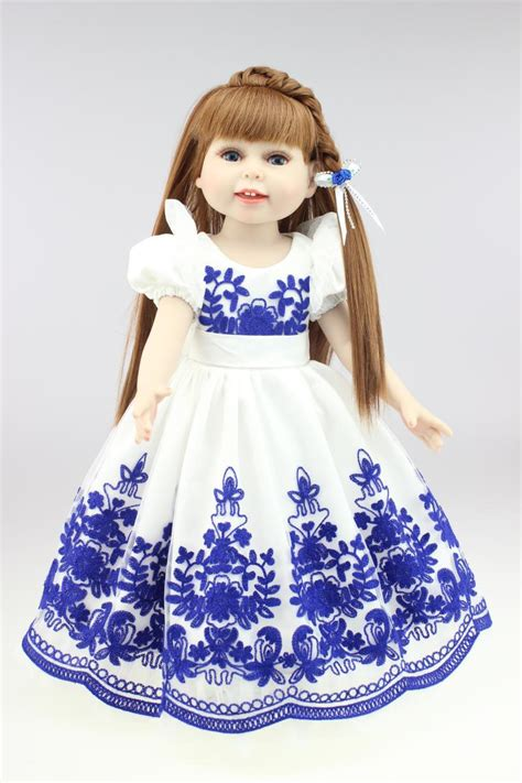 porcelain doll blue dress compare prices on porcelain doll dresses shopping