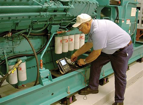 standby diesel generator maintenance electrical