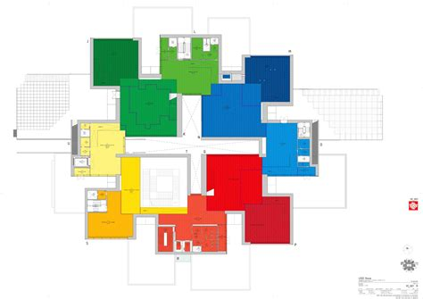 lego house floor plan gallery of lego house big 24