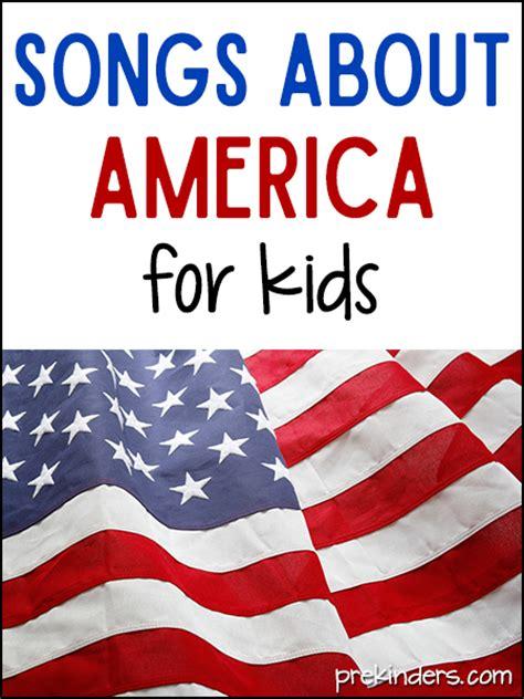 patriotic usa songs for kids prekinders
