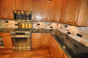 granite kitchen ideas tile backsplash scabos travertine uba tuba granite