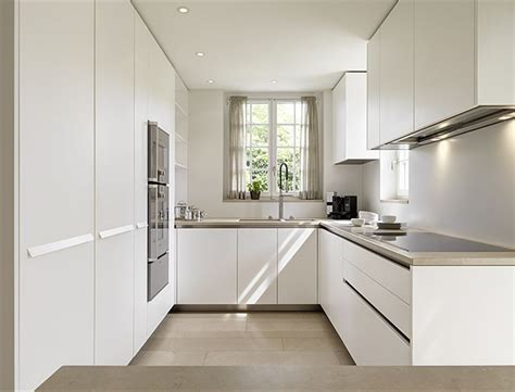 modern u shaped kitchen designs modern quot u quot shaped kitchen but white would be too stark in