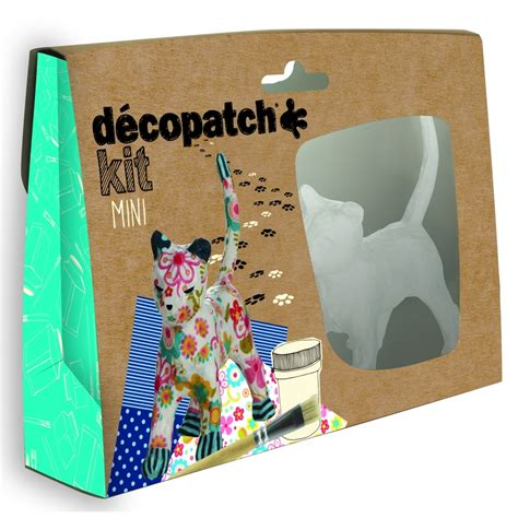 Paper Kit For - decopatch cat mini kit decopatch and paper mache from