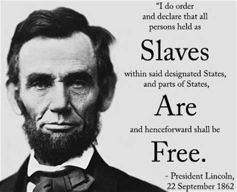 emancipation proclamation quotes like success