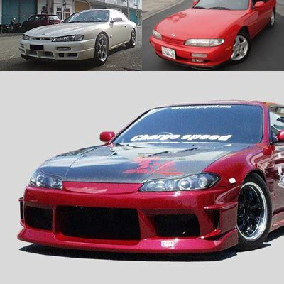 chargespeed nissan s14 to s15 front end conversion