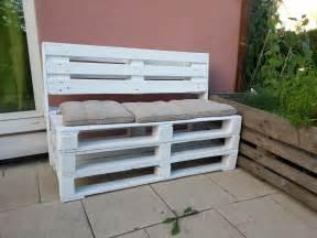 banc coffre en palettes meubles et rangements par