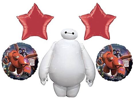 Balon Foil Baymax big 6 partying with baymax cool gifting