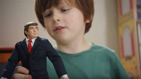 donald trump doll house the targeting of six tv ads aiming to knock