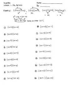 11 best images of multiplying binomials worksheet