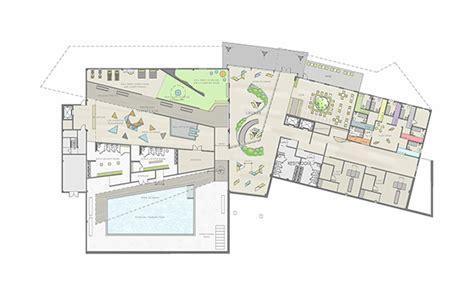 rehabilitation center floor plan pediatric activites rehabilitation center on behance