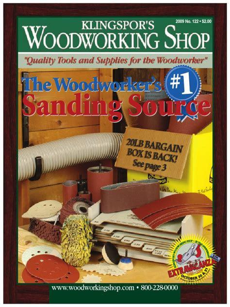 klingspors woodworking shop vol  catalog abrasive