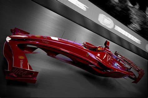 ferrari prototype f1 ferrari f1 hovercar concept foreshadows the future of
