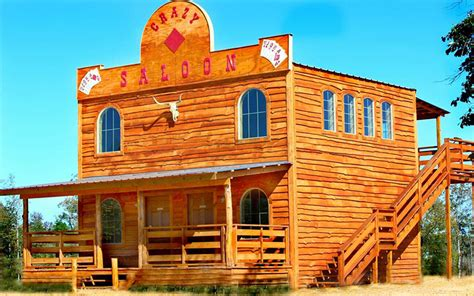 West Cabins by Saloon Cabin Lodging Saloon Exterior