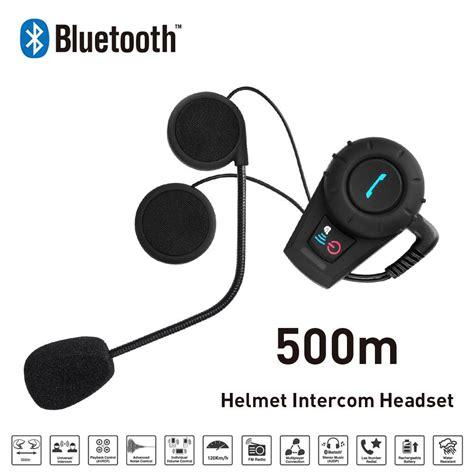 Headset Bluetooth Helm beste motorfiets bluetooth intercom helm headset bluetooth