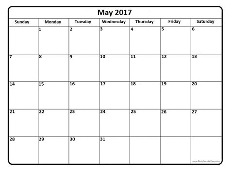may 2016 calendar holidays 2017 printable calendar may 2017 calendar printable with holidays weekly